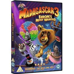 Madagascar 3: Europe's Most Wanted [DVD]